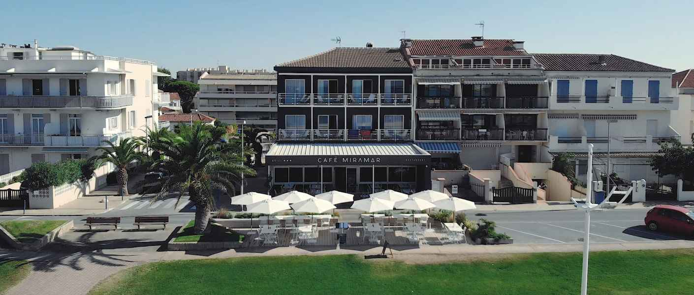 Hôtel restaurant 3* Miramar au Grau du Roi